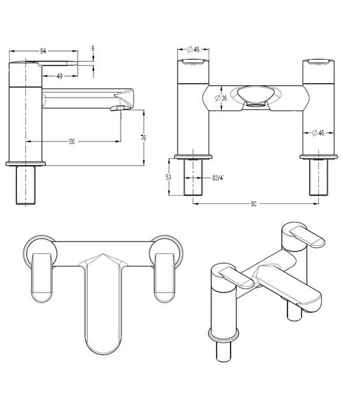 Technical drawing 13391 / VO322DC