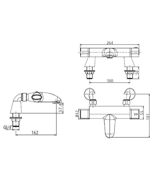 Technical drawing 1339 / AS THBF C