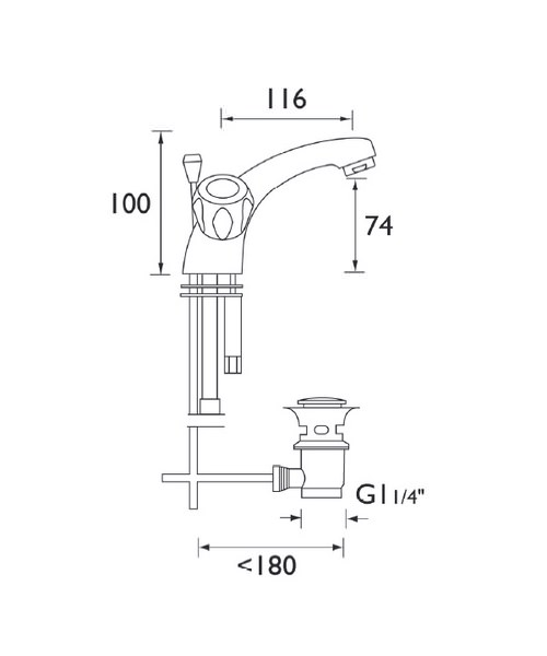 Technical drawing 1342 / VAC BAS C MT