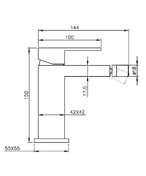 Technical drawing 13431 / CU011