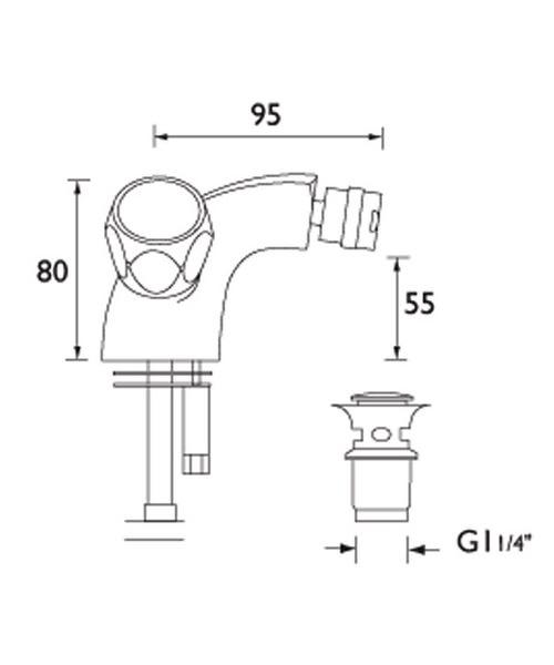 Technical drawing 1345 / VAC BID C MT