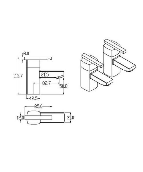 Technical drawing 13478 / SQ003
