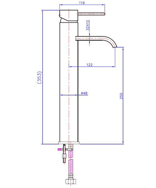 Technical drawing 13509 / NR005