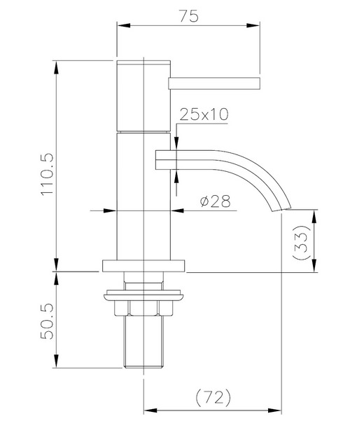 Technical drawing 13511 / NR001
