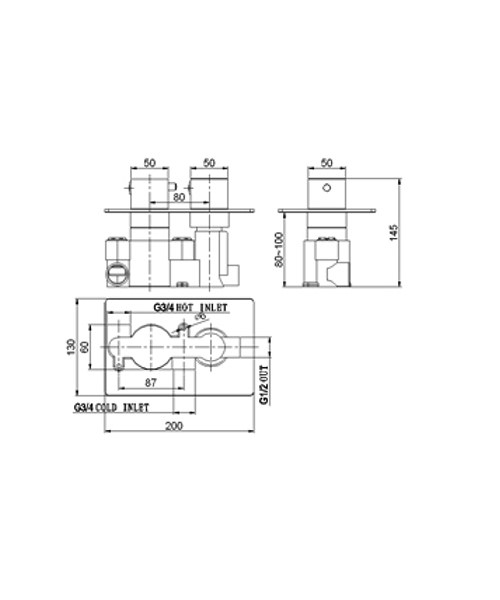 Technical drawing 13532 / SV023RO