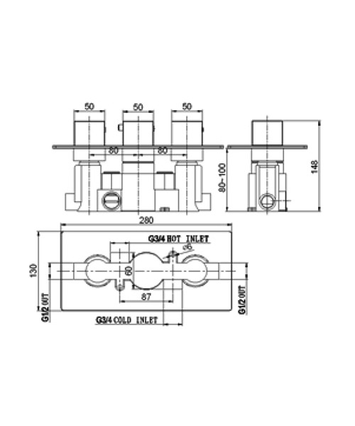 Technical drawing 13534 / SV025RO