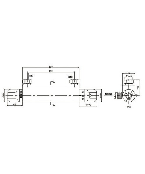 Technical drawing 13542 / SV006