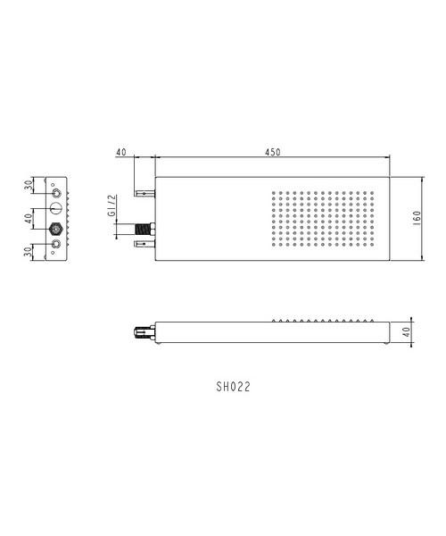 Technical drawing 13551 / SH022
