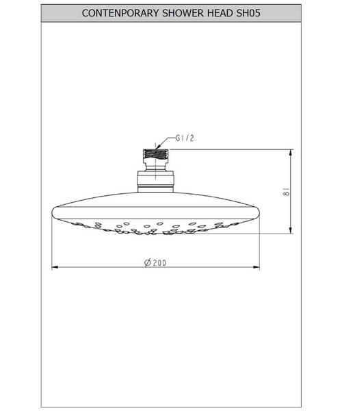 Technical drawing 13560 / SH005