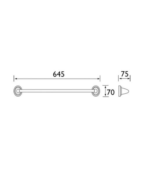 Technical drawing 1370 / J RAIL C