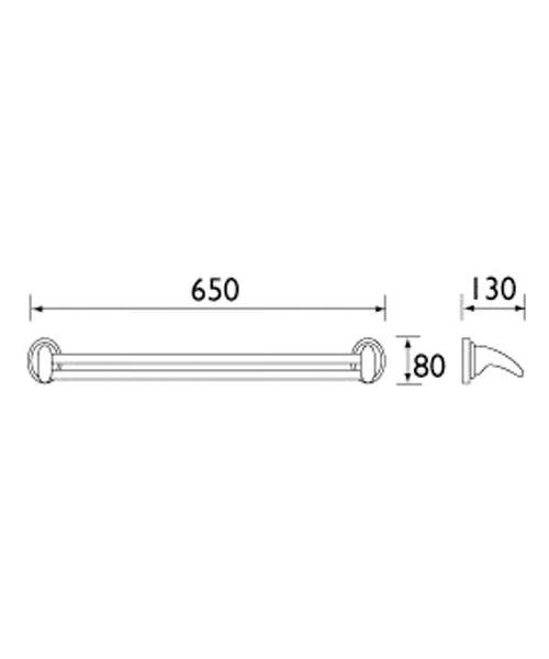 Technical drawing 1371 / J DRAIL C