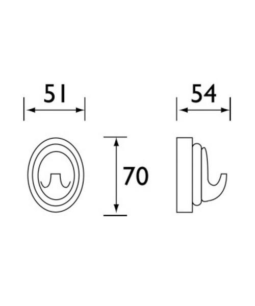 Technical drawing 1373 / J HOOK C