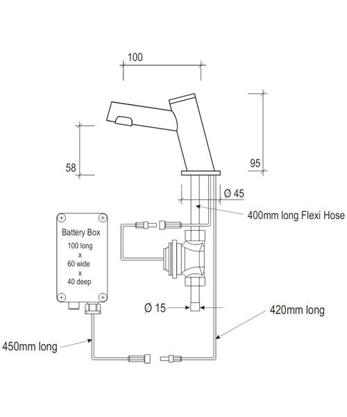 Technical drawing 13933 / SF2105CP