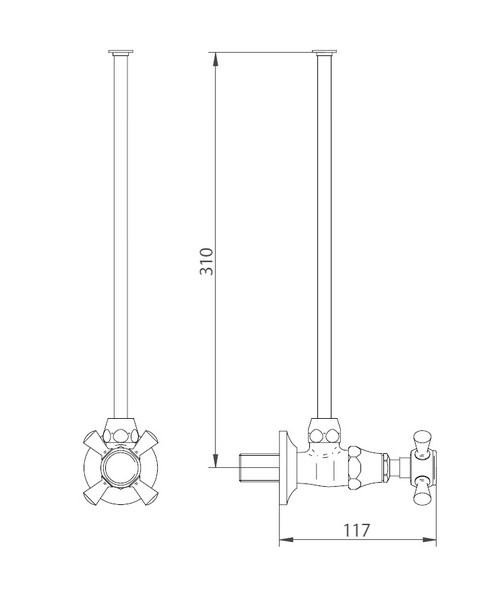 Technical drawing 14002 / ZXT6026100