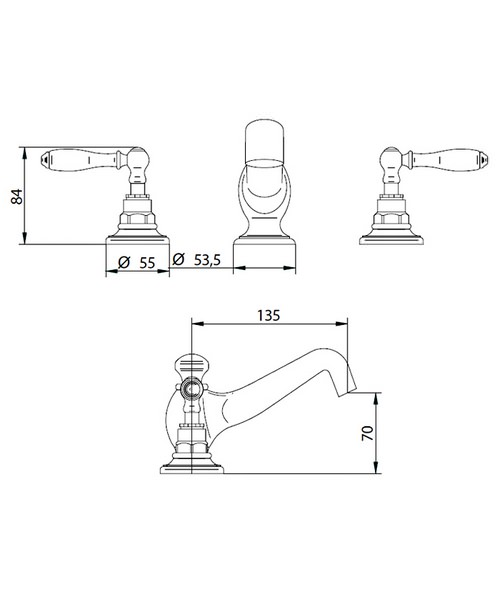 Technical drawing 14003 / ZXT6049100