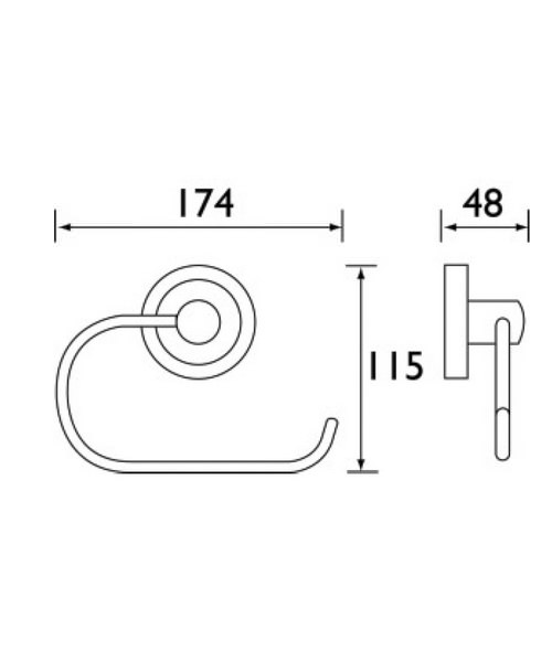 Technical drawing 1401 / SO ROLL C
