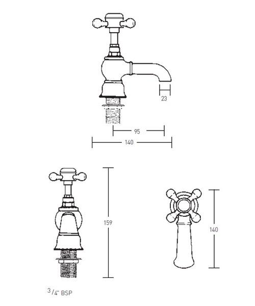 Technical drawing 14029 / XO60020100W