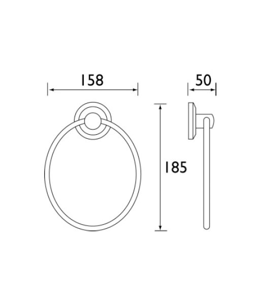 Technical drawing 1404 / SO RING C