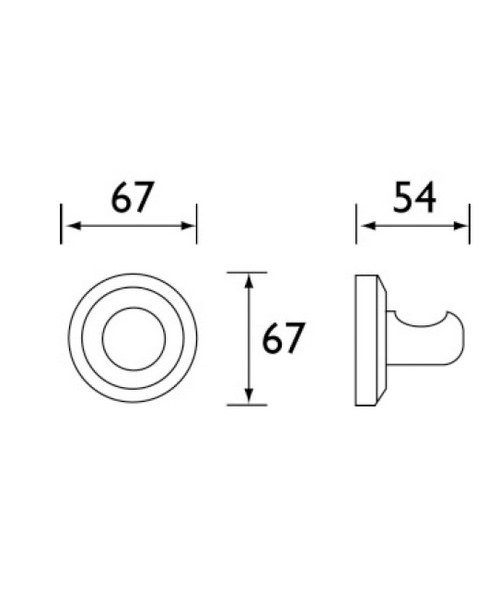 Technical drawing 1410 / SO HOOK C