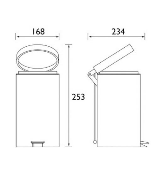 Technical drawing 1417 / SO BIN C