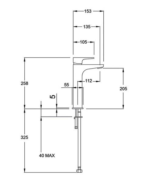 Technical drawing 14211 / LUSH113/EX