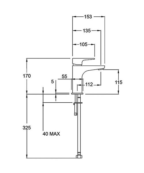 Technical drawing 14212 / LUSH113