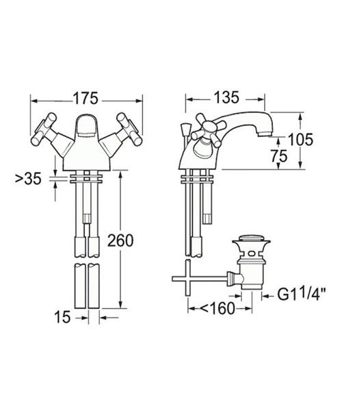 Technical drawing 14234 / MILAN 113