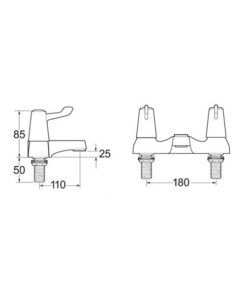 Technical drawing 14257 / DLT SPEC108