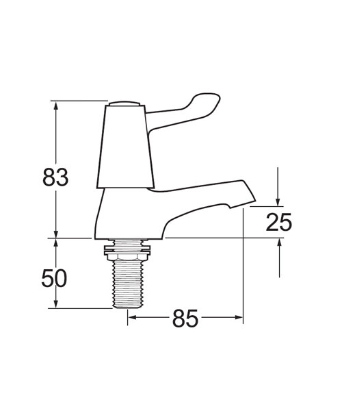 Technical drawing 14276 / DLT SPEC102