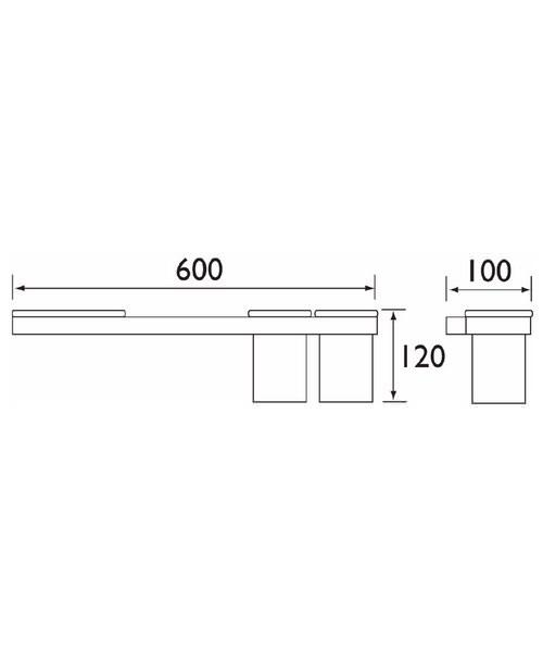 Technical drawing 1427 / TR RAIL C