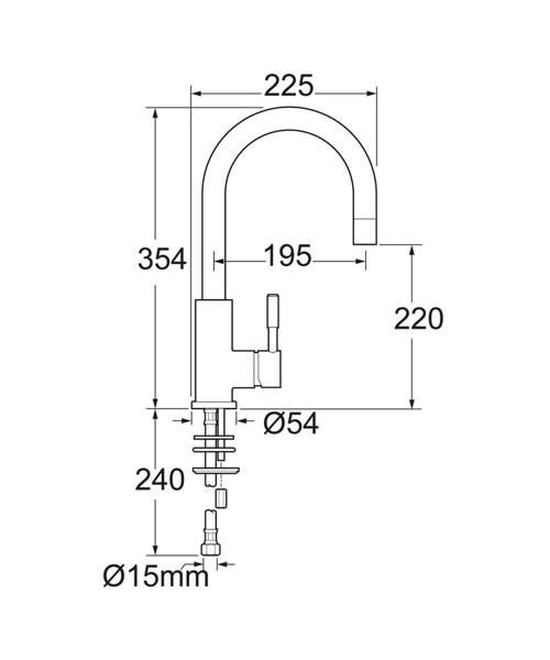 Technical drawing 14339 / VSN104