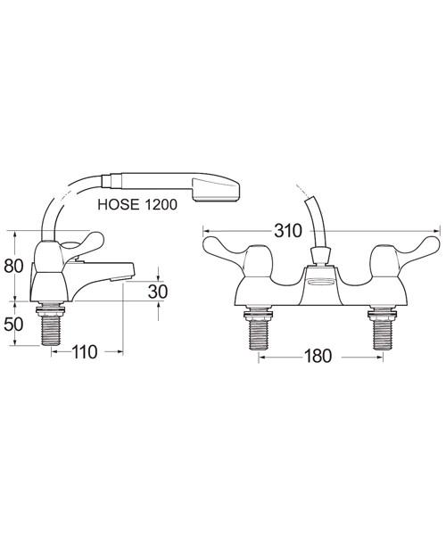 Technical drawing 14361 / CNTL05