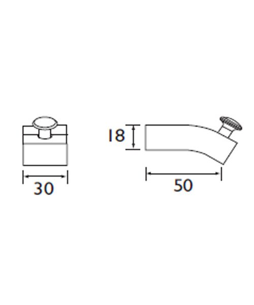 Technical drawing 1437 / TW HOOK C