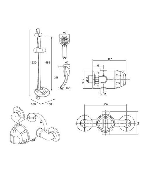 Technical drawing 14385 / UNDATHCM