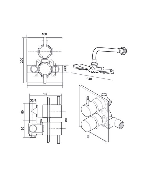 Technical drawing 14396 / UNTHDCDIV