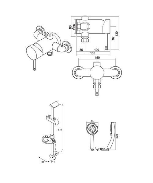 Technical drawing 14401 / UNTHTHEXSL