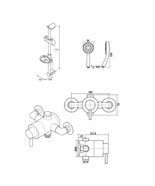 Technical drawing 14404 / UNTHTHEXSMMN