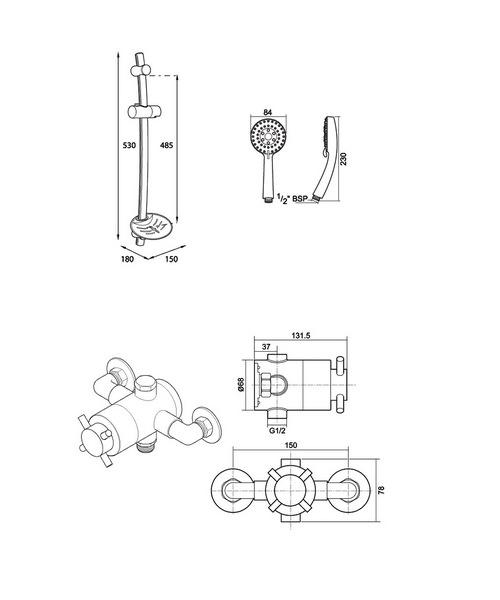 Technical drawing 14406 / UNMETHEXSMMN