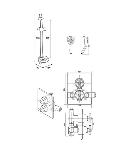 Technical drawing 14410 / UNMEDCMX