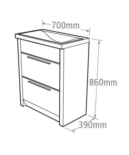 Technical drawing 14549 / KA700AW