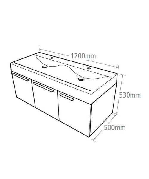 Technical drawing 14559 / EN1200W