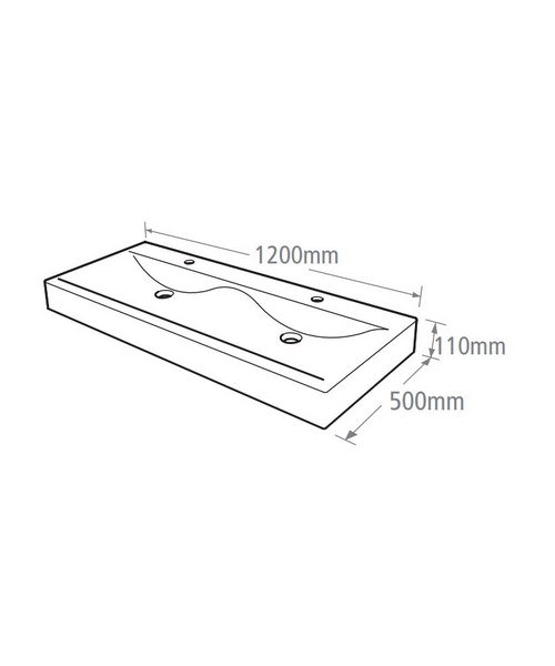 Technical drawing 14561 / CON1200W