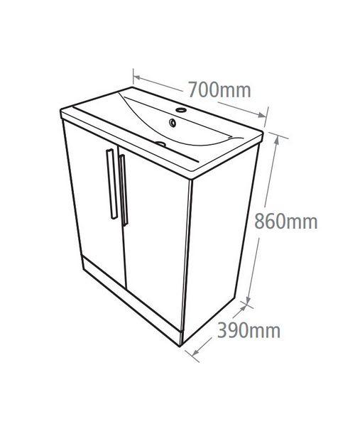 Technical drawing 14562 / EN7FAW