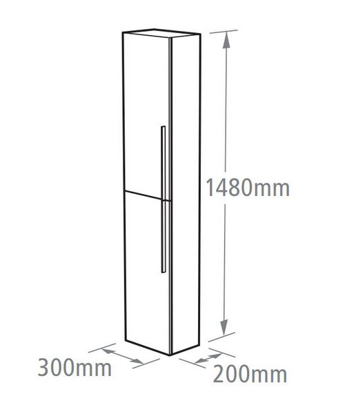 Technical drawing 14567 / ENC300AW