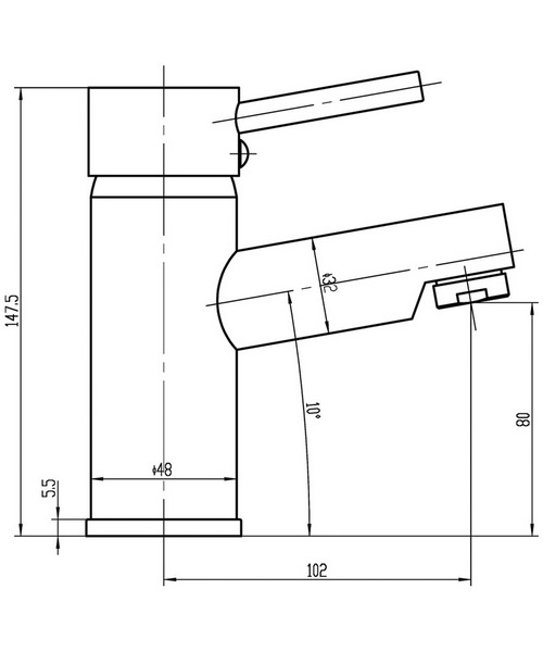 Technical drawing 14590 / FTY355