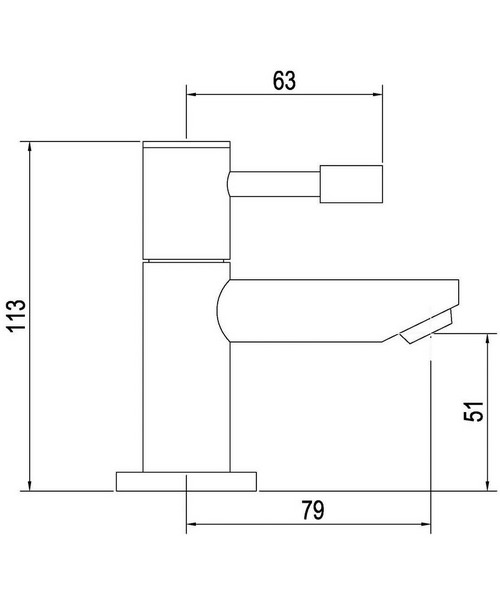 Technical drawing 14604 / FJ311