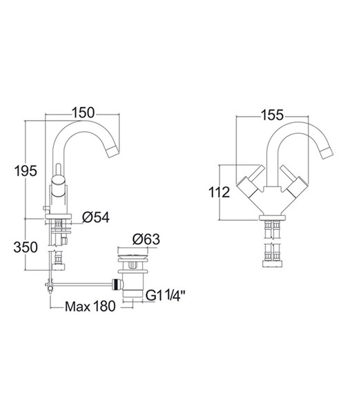 Technical drawing 14903 / INS120