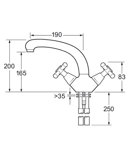 Technical drawing 14939 / MILAN 104