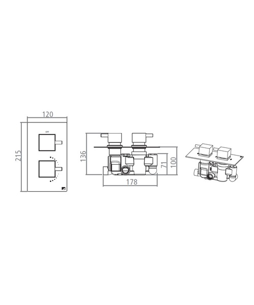 Technical drawing 15111 / SV2104