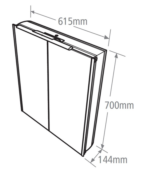 Technical drawing 15195 / AS615AL